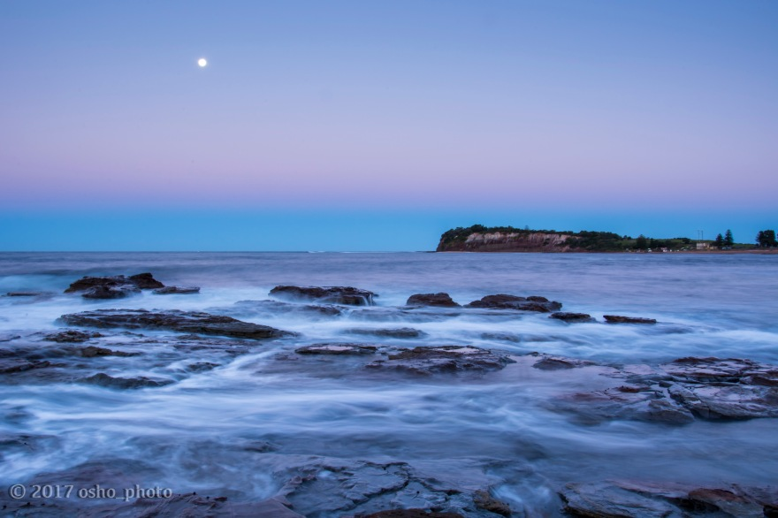 Long Reef Under Lilac Sky